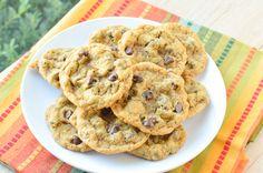 Chewy Pumpkin Chocolate Chip Cookies {Macaroni and Cheesecake}