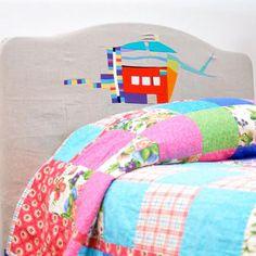 DIY home crafts DIY Improv patchwork headboard DIY home crafts