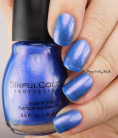 Sinful Colors Peri-Twinkle | Be Happy And Buy Polish https://behappyandbuypolish.com/2017/01/06/sinful-colors-gold-n-roses-peri-twinkle-decem-brrr-i-pine-for-you-swatches-review/