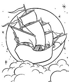 Peter Pan coloring pages on Coloring-Book.info   Party Idea\'s ...