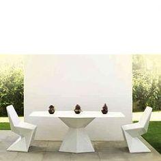 Vondom Vertex Outdoor Dining Furniture, patio, set, sets, outside - HomeInfatuation.com