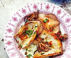 Calamari alla griglia con salsa piccante