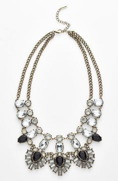 BaubleBar 'Drama' Mixed Stone Statement Necklace (Nordstrom Exclusive) I FOUND MY STATEMENT NECKLACE AFTER YEARS OF SEARCHING!!!
