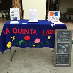 Visit our booth at the La Quinta Farmer's Market! We will be there January 11th from 8-11 am.