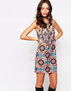 New Look Sleeveless Tunic Dress