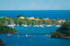 Canash Bay, St Vincent.  my childhood village.