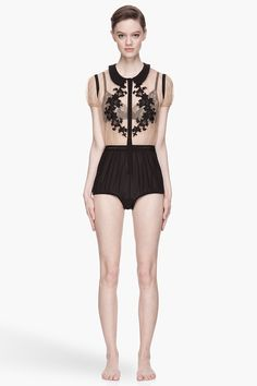 Designer jumpsuits for Women Designer Bra, Designer Jumpsuits, Jumpsuits For Women, Passion For Fashion, Ready To Wear, Applique, Style Inspiration, Mesh, Floral