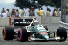 Teo Fabi, Benetton-BMW B186, 1986 United States GP, Detroit