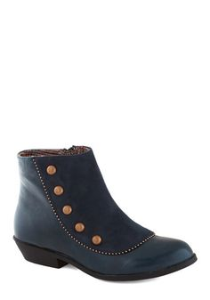 A Liking for Leisure Bootie, #ModCloth