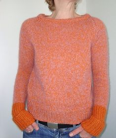 6d07ab2a9dfb74 Ravelry  BaWil s lovely surprise. Really like this version of the Garance  Sweater by Julie