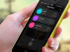MimeFeed App. Pick a Word by Alex Ds Karera
