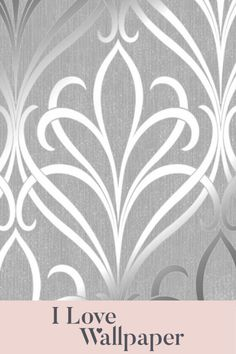 This gorgeous paper features a subtle vinyl textured background brought alive by the areas of high lustre metallic ink, providing a luxurious, welcoming and fresh feel to any living area in your home. Damask Wallpaper, Textured Background, Living Area, Metallic, Ink, Fresh, Interior Design, Silver, Nest Design