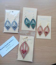 Bobbin lace jewelery