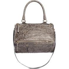 68728e4a60 GIVENCHY  Pandora  medium washed lambskin leather bag -  1