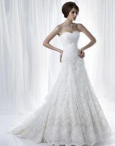 New white/ivory Lace wedding dress