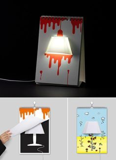 Page by page lamp