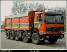 Terberg FL 2850 10x8 kippertruck van Buist in Valthe