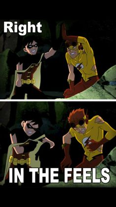 I dont know if i pinned this or not but after the death of kid flash yeah that was me right in the feels