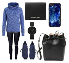 """Untitled #590"" by syshrn ❤ liked on Polyvore featuring Steve Madden, Mansur Gavriel, MICHAEL Michael Kors, Newgate and Casetify"