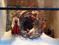 Anthropologie holiday windows 2014 | NYC