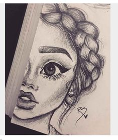 Cute girl sketches drawings drawings art and cute girl sketch cute anime girl drawing easy step . Pencil Sketch Drawing, Girl Drawing Sketches, Drawing Faces, Face Sketch, Tumblr Girl Drawing, Best Drawing, Pencil Sketches Of Girls, Pencil Drawings For Beginners, Pencil Art