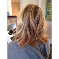 Long Bob 2014 haircutting 2015 cut trend starting with a soft a-line and adding texture for the perfect textured lob