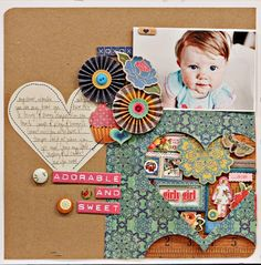 A Project by {Jen Jockisch} from our Scrapbooking Gallery originally submitted 09/29/11 at 09:15 PM