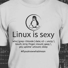 Tag a friend   by @mosajjal #linux is sexy! #coding #nerd #programming #ubuntu #superuser #sysadmin #developer #programmer #engineer #softwaredevelopment #softwareengineer #humour #computerhumor #nerdhumor #geek #geekhumour #bash #script #ifyouknowwhatimean #funny #compuer #redhat #tux #fedora #osx #kali #kalilinux #distro by sidtechnology