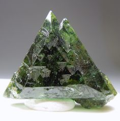Tourmaline with unusual shape