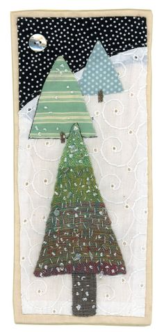 ❤ =^..^= ❤    Sharon Blackman | Christmas designs with trees inspired by illustrator Sanna Annuka.