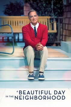 A Beautiful Day in the Neighborhood Directed by Marielle Heller. With Tom Hanks, Matthew Rhys, Enrico Colantoni, Susan Kelechi Watson. Based on the true story of a real-life friendship between Fred Rogers and journalist Tom Junod. Fred Rogers, Mr Rogers Movie, New Movies, Good Movies, Movies Online, Movies And Tv Shows, Movies 2019, Latest Movies, Imdb Movies
