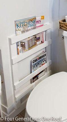 #Small&Low cost / 10 grandes ideas para aprovechar pequeños baños