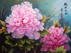 ... , the peony painting is the top choice to hang in rooms for ausp- icious…
