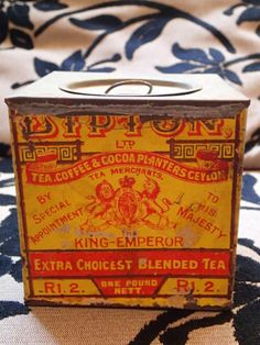 Electronics, Cars, Fashion, Collectibles, Coupons and Fables For Kids, Lipton, Vintage Tins, The Fool, Tea Pots, Collections, Ebay, Antique Boxes, Tea Pot
