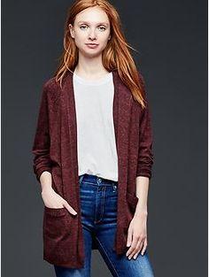 Open-front dolman-sleeve cardigan | Gap