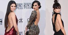 Decote nas costas conquista famosas como Selena Gomez no AMA; saiba como usar!