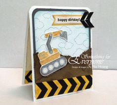Something for Everyone!: Stampin' Up I Dig You & RS#98