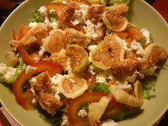 salada com fruta <3