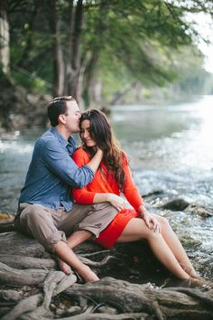 Guadalupe River Engagement Sesh!   Photography By / http://loftphotographie.com