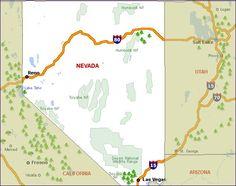 Nevada Campsites, Nevada National Parks, Nevada State Parks Discounts