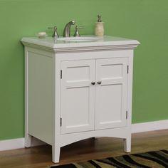 30 Bathroom Vanity With Top Canada martha stewart living - seal harbor ensemble meuble-lavabo