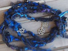 Jewish Wiccan and Celt Charms Handfasting cords Handfasting Cords, Prayer Stations, Kitchen Witch, World Cultures, Wiccan, Mystic, Romantic, Unique Jewelry, Prayer Beads