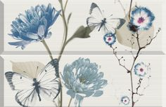 Revestimiento - Delicate-2 azul 25X75 cm. | Arcana Tiles | Arcana Ceramica | baldosas cerámicas |  bathroom inspiration | home decor Interior Architecture, Interior Design, Serenity, Plants, Inspiration, Collection, Home Decor, Porcelain Tiles, Blue Nails