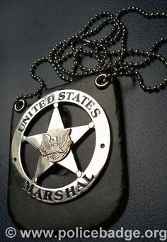 Badge US Marshals by dynamicentry122, via Flickr