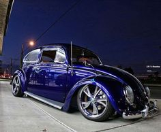 Gorgeous blue vw bug
