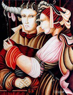 Carmen Aldunate  Pintora Chilena
