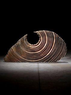 São Mamede - Art Gallery Paulo Neves Sem Título - 151)19 2015 Madeira 43 cm x 96 cm x 9 cm