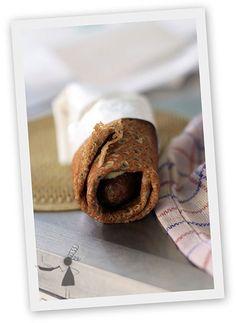 Recette de la galette saucisse - Hot-dog breton - Recettes Bretonnes