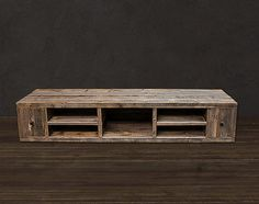 Reclaimed Wood Media Console / TV Stand on Etsy, $1,445.00 Media console. Add…