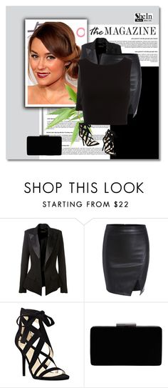 """""""Sheinside (93)"""" by gabbycastronovo ❤ liked on Polyvore featuring Lauren Conrad, Alexandre Vauthier, Nine West and John Lewis"""